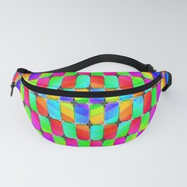Tumbler #31 Psychedelic Optical Illusion Design by CAP Fanny Pack