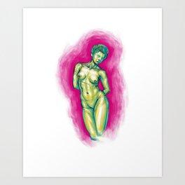 La Femme Waikiki Art Print
