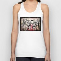 the royal tenenbaums Tank Tops featuring The Royal Tenenbaums by Joe Badon