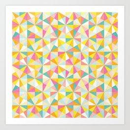 Shanti Sparrow: Love Triangle Art Print