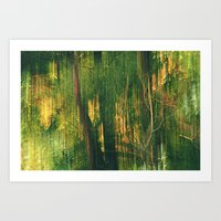 Into the Goat Willows Art Print