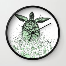Into_The_Sea2 Wall Clock