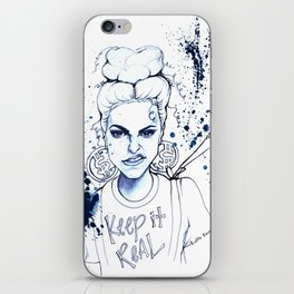 #STUKGIRL KYE (Keep it Real) iPhone Skin