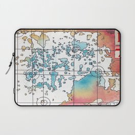 """B7″ Multiverse Map #3 Laptop Sleeve"