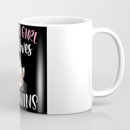 Just A Girl Who Loves Penguins Flippers Coffee Mug