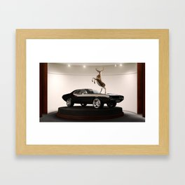 Hall of Claims Framed Art Print