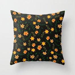Warm summer nights Throw Pillow