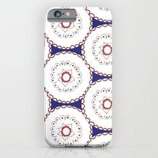 Kaleidoscope Circles iPhone 6s Slim Case