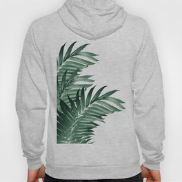 Palm Leaves Tropical Green Vibes #3 #tropical #decor #art #society6 Hoody