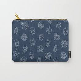 Little Monsters (blue) Carry-All Pouch