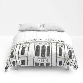 Yankee Stadium Comforters