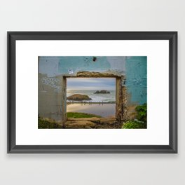 Sutro Baths - San Francisco, CA Framed Art Print