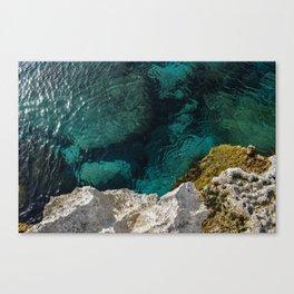 Cyprus Sea III Canvas Print