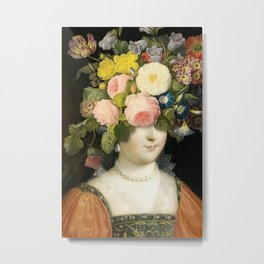 The Unknown Lady Metal Print