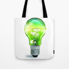 Environment Light Up Tote Bag