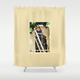 WE SAVE EACH OTHER Shower Curtain