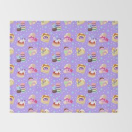 Ponies x Sweets Throw Blanket
