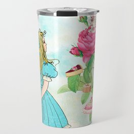 Alice in Wonderland tea party Travel Mug