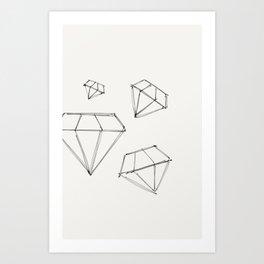 Diamond Dream - Original Ink Sketch Art Print