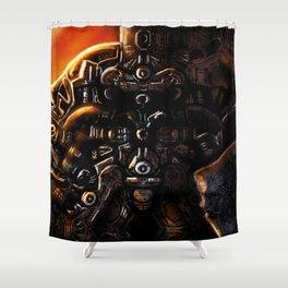 DreamMachne III Shower Curtain