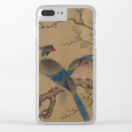 Birds on Branches Clear iPhone Case