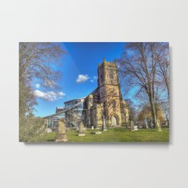 St Barnabus Church Metal Print
