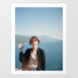 Ohrid, Macedonia Art Print