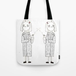 the royal tenenbaums - margot Tote Bag