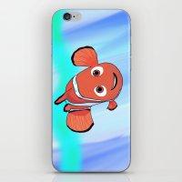nemo iPhone & iPod Skins featuring Nemo by paulusjart