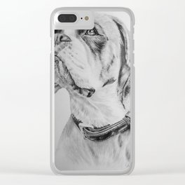 What A Good Boy !! Clear iPhone Case