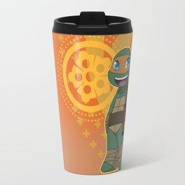 TMNT Chibi Mikey Travel Mug