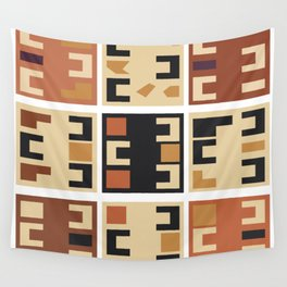 African Tribal Pattern No. 159 Wall Tapestry
