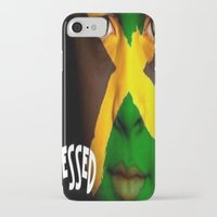 jamaica iPhone & iPod Cases featuring Jamaica Love  by GoodVybz