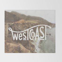 West Coast - BigSur Throw Blanket