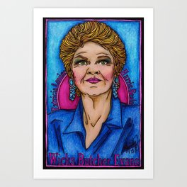 Pat Art Print