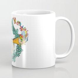 Girl with Trumpet Coffee Mug