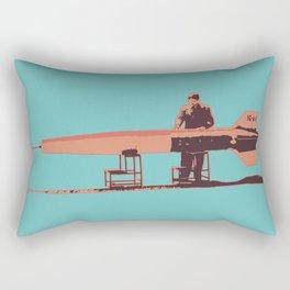 Bomb Inspector Rectangular Pillow