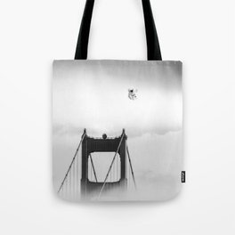 The San Francisco Astronaut Tote Bag
