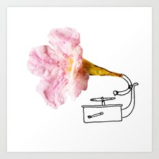 Victroflower Art Print