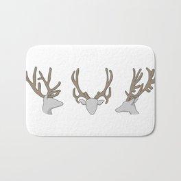 Three little Deer Bath Mat