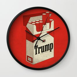 Pack of Reds Wall Clock