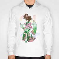 sailor jupiter Hoodies featuring Sailor Jupiter by Sophira-lou