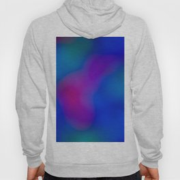Blue - Pink  Abstract Hoody