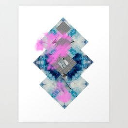 BLUES Art Print