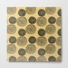 Eshe Circles Metal Print