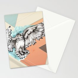 Owl McFly by carographic Stationery Cards