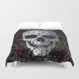 Doodle Skull Duvet Cover