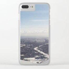 Airplane Mode Clear iPhone Case
