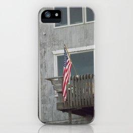 Porch Flag iPhone Case