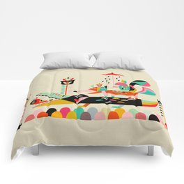 Wired Jungle Comforters